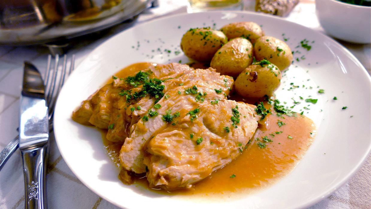 recetas de filetes de pollo en salsa para niños