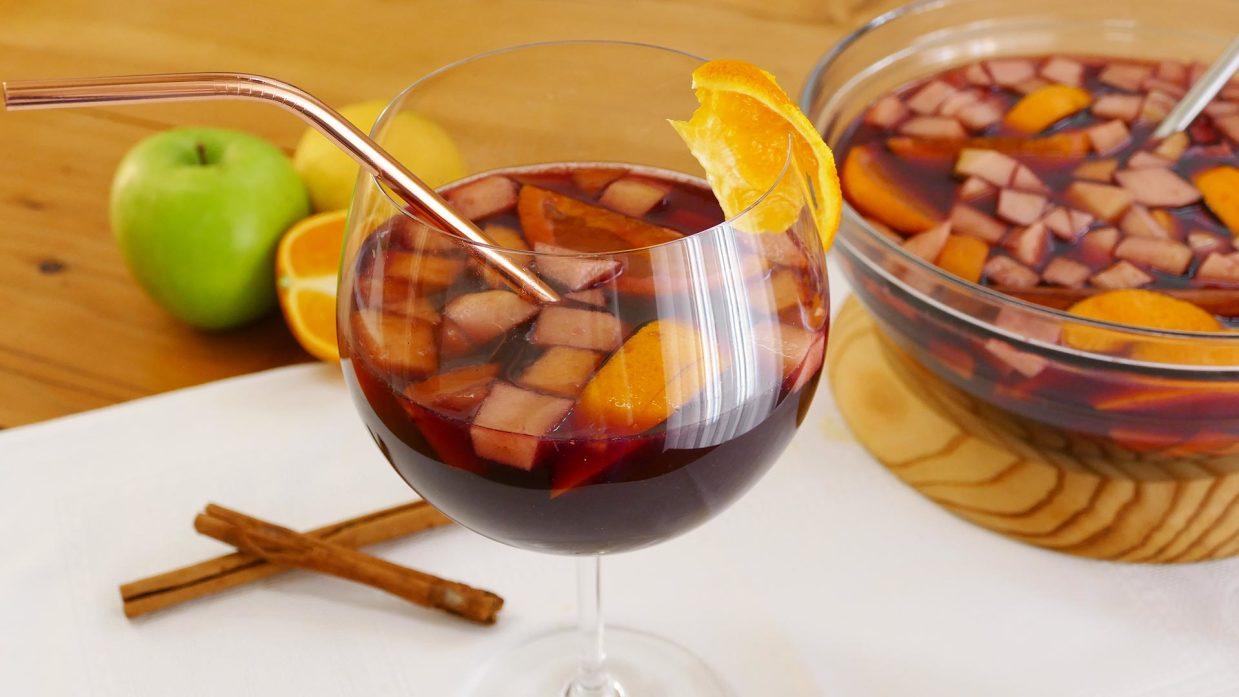 como se prepara sangria de frutas