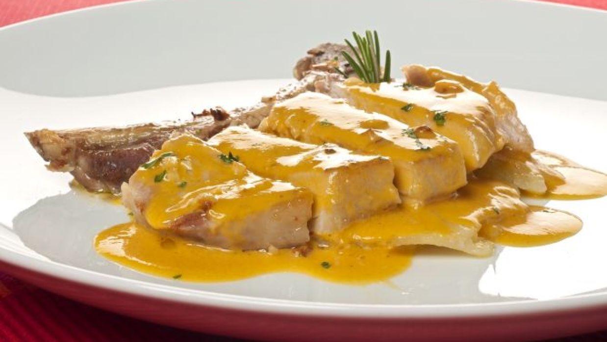 Receta De Chuleta De Cerdo Con Salsa De Mango Bruno Oteiza
