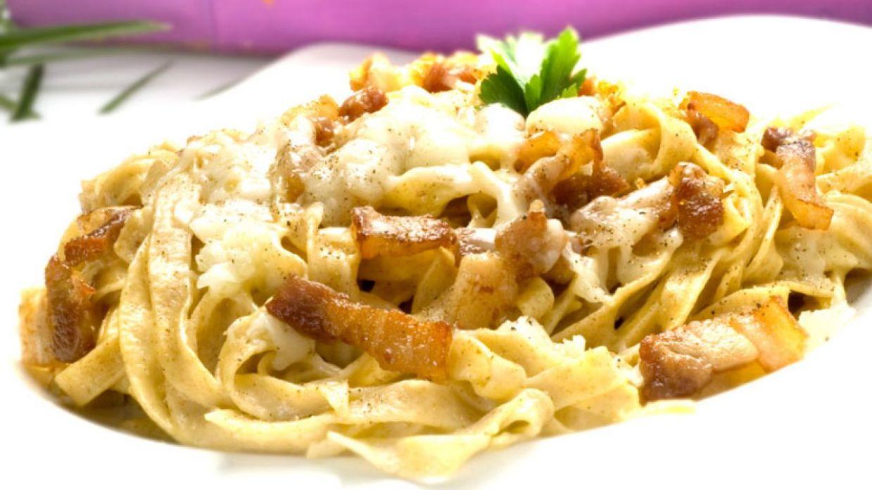Receta De Pasta Fresca A La Carbonara Karlos Arguiñano