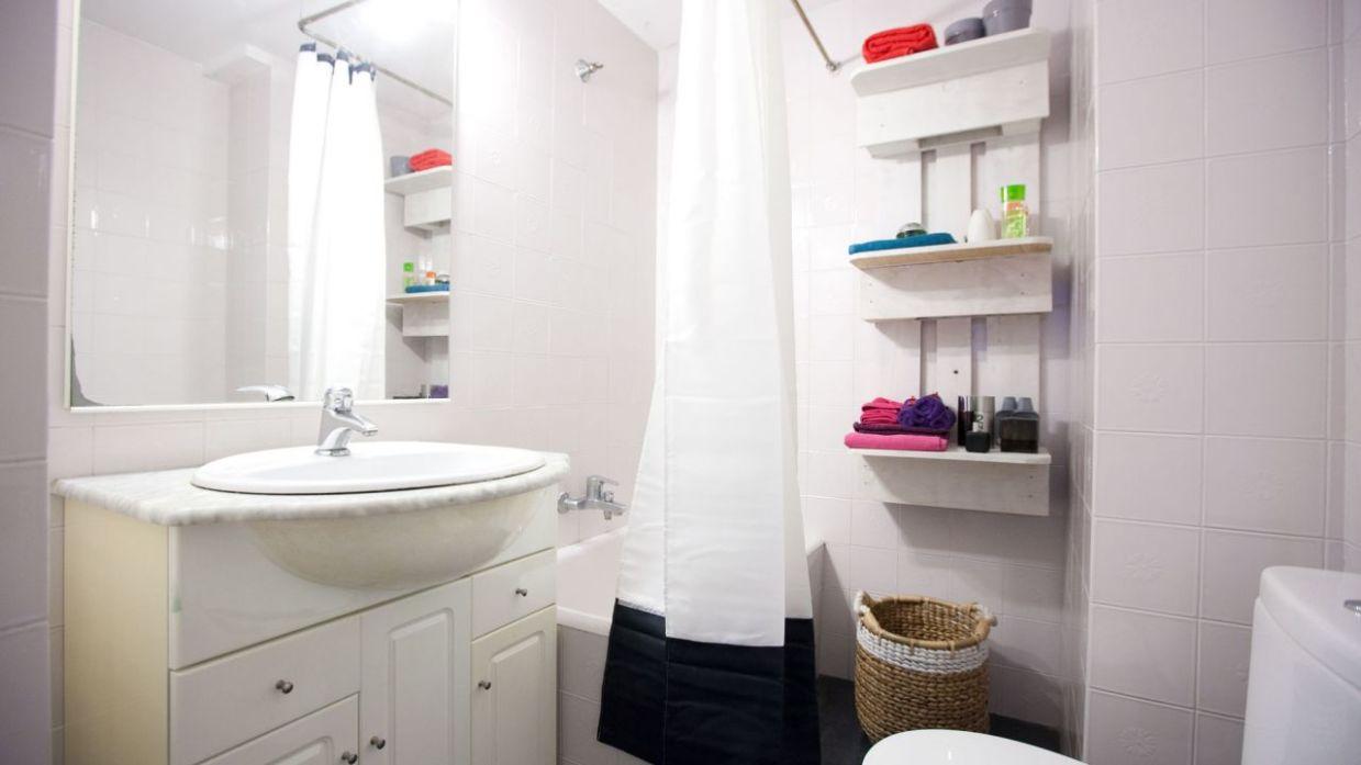 ideas de pisos de baño de vinilo Actualizar Bao Viejo Sin Hacer Obras Decogarden