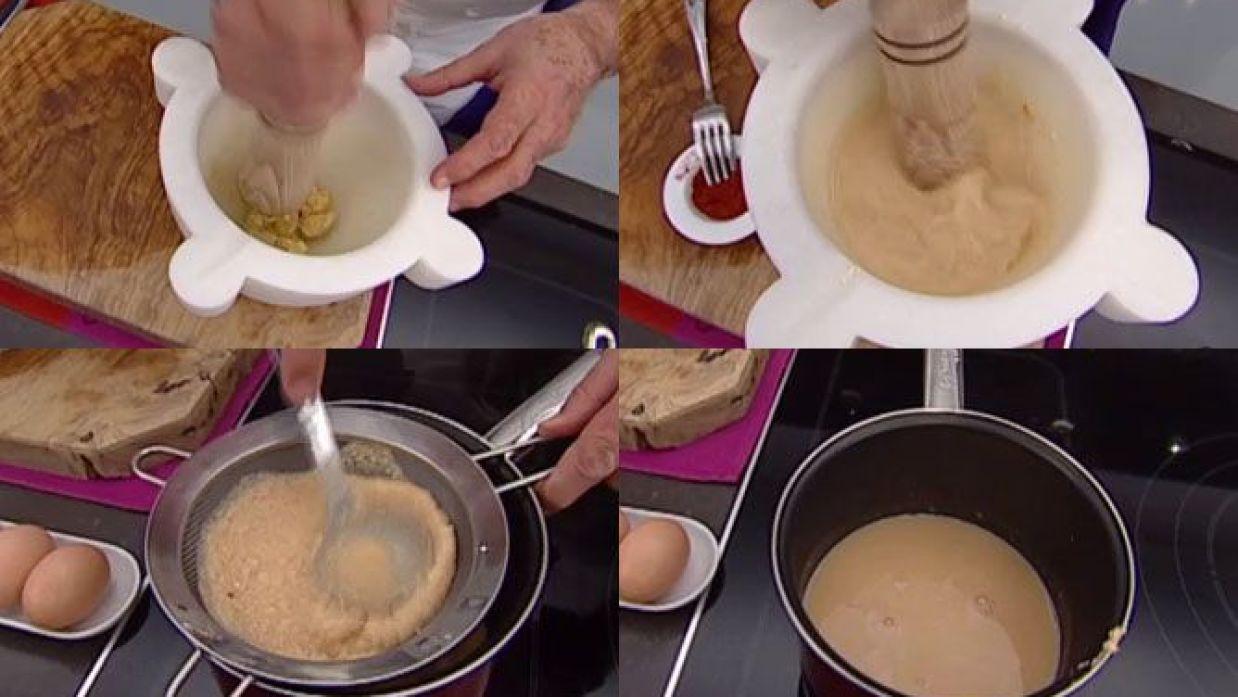 Receta De Salsa De Almendras Karlos Arguiñano