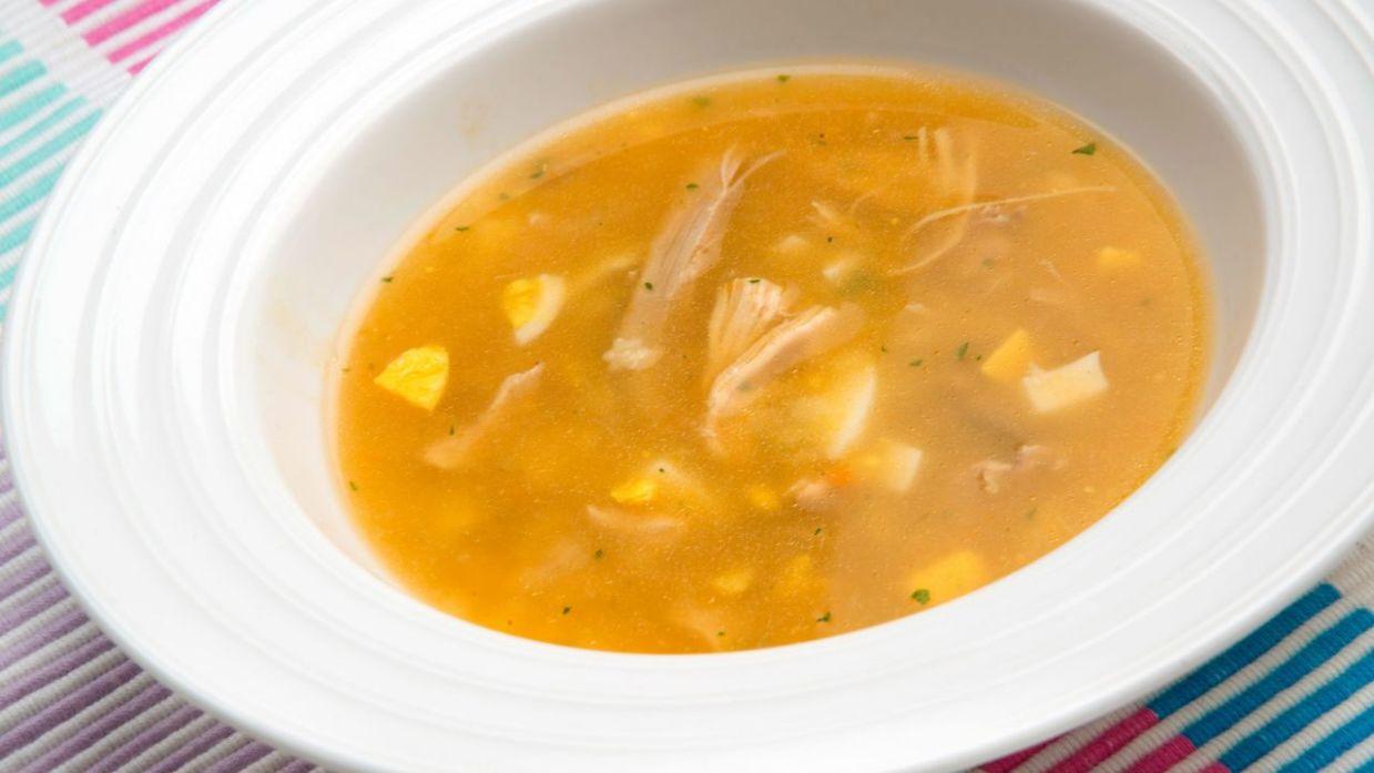 Receta De Sopa De Pollo Con Estrellitas Karlos Arguiñano