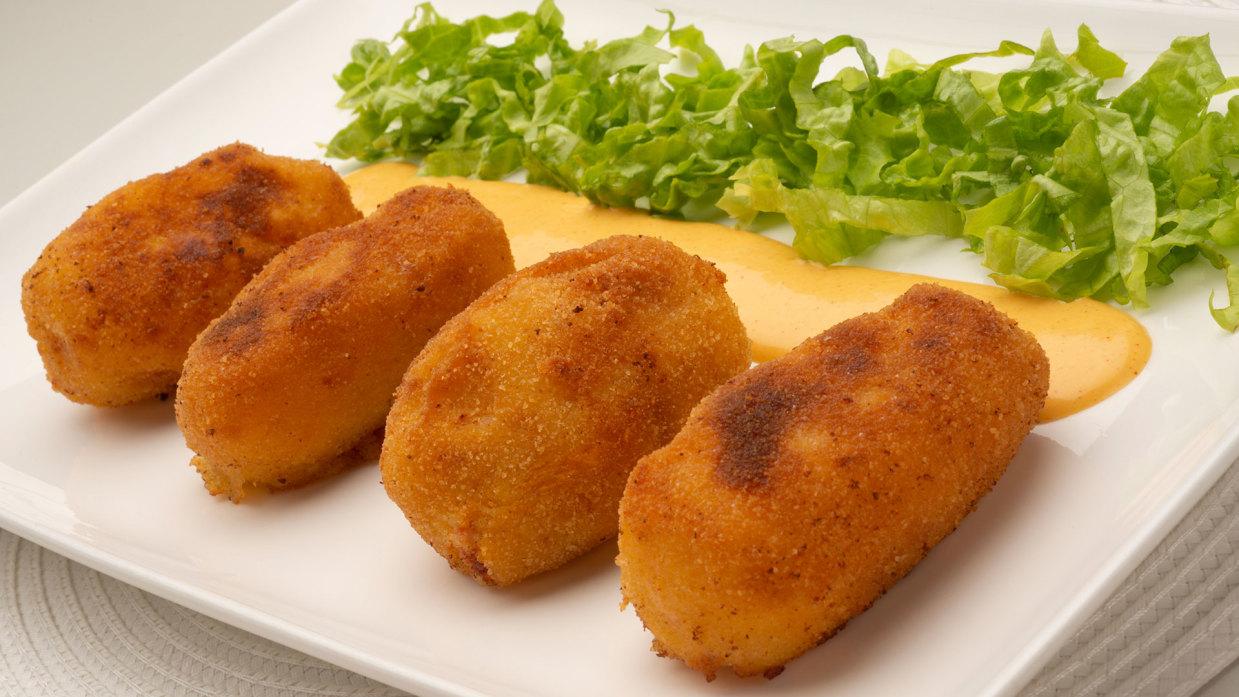 Receta De Croquetas De Patata Txistorra Y Queso Karlos Arguiñano