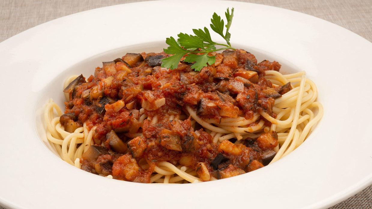 Espaguetis Con Berenjenas De Karlos Arguiñano
